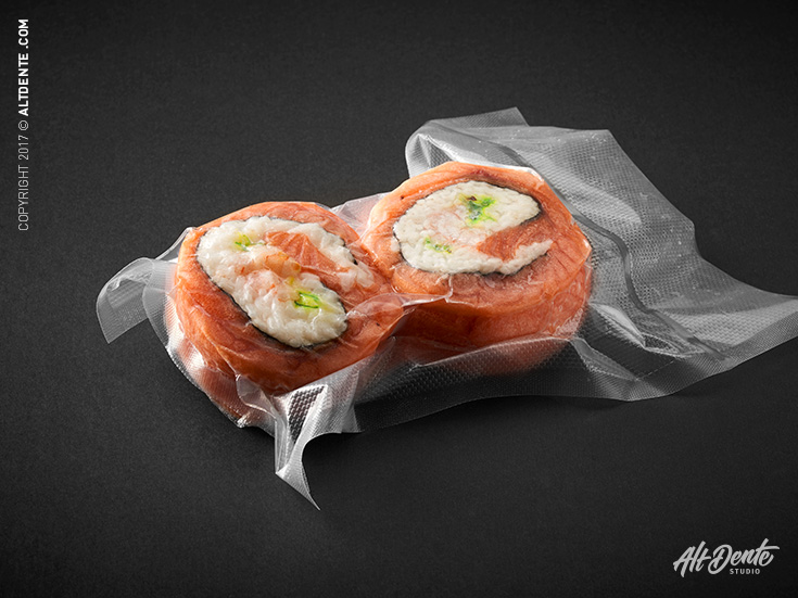 Poissonnerie Cowie sushi emballage